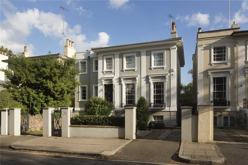 5 Bedroom House for sale in St John's Wood, London,  NW8 6AN