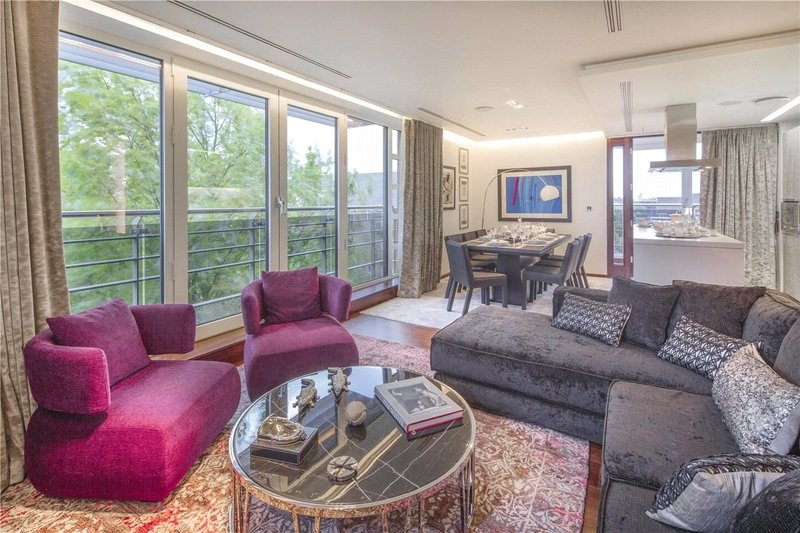 2 Bedroom Flat for sale in 127-131 Park Road, London,  NW8 7JS