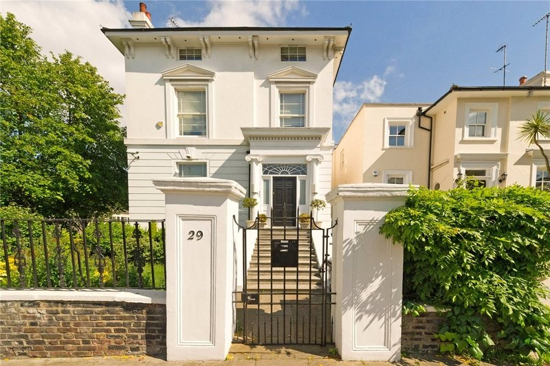 6 Bedroom House to rent in London, London,  NW8 6AR