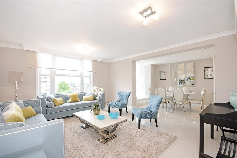 3 Bedroom Flat to rent in St John's Wood, London,  NW8 6NJ