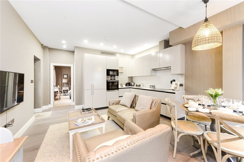 1 Bedroom Flat to rent in St. Johns Wood Park, London,  NW8 6NH