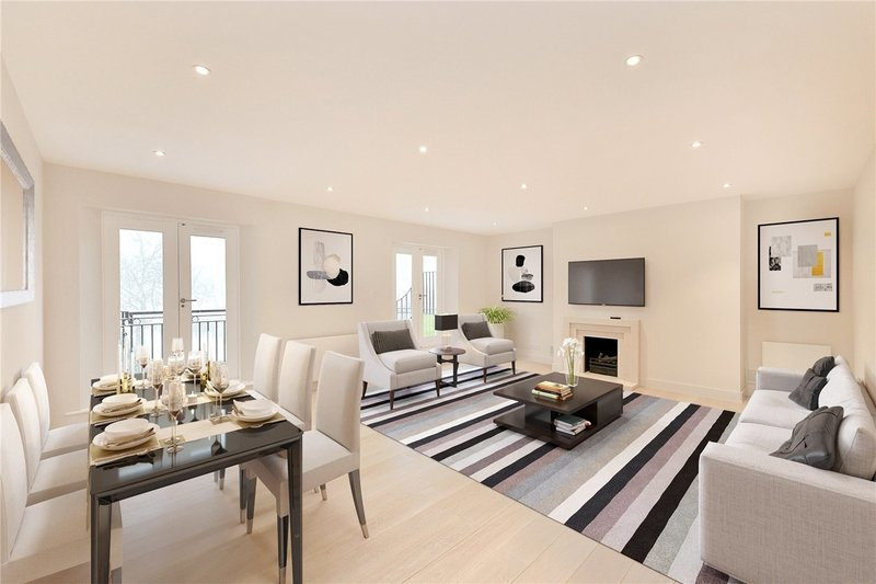 3 Bedroom Flat to rent in Primrose Hill, London,  NW3 3DS