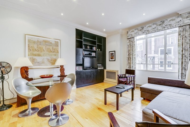 1 Bedroom Flat to rent in Marylebone, London,  W1U 6LB